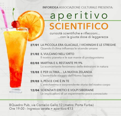 locandina aperitivo scientifico