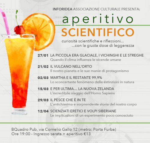 locandina aperitivo scientifico