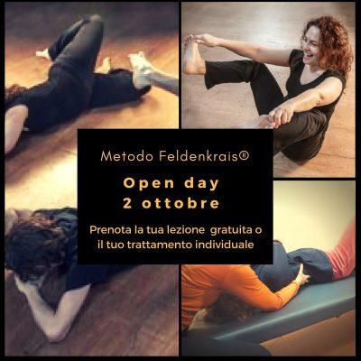 locandina Open day metodo feldenkrais roma